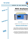 DET NH3 Analyzer by UV Spectroscopy Brochure