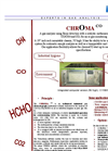 CHROMA CO CO / CO2 / CH4 /HCHO Analysis - Brochure