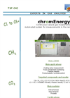 chromEnergy Hydrocarbons C1-C6+ Measurement for Calorific Value and WOBBE Index Computation - Brochure