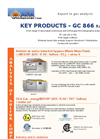 Key Products - GC866 Range - Brochure