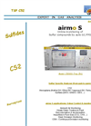 airmo - Model S - Automatic Isothermal Gas Chromatograph Analyzer Brochure