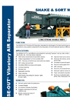 DENSE-OUT - Vibratory AIR Separator – Brochure