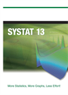 SYSTAT - Version 13 - Powerful Statistical Analysis and Graphics Software Brochure