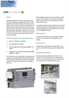 Parts Washer Washing Machine OWM Series- Brochure