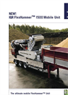 IQR FlexHammer™ 1500 Mobile Crusher Unit Brochure