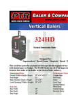 PTR - 324HD - Vertical Downstroke Baler Brochure