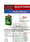 PTR - 360 - Vertical Downstroke Baler Brochure