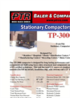 PTR - Model TP-3000 - Tram-Pak Stationary Compactor - Cut Sheet