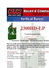 PTR - 2300HD - Vertical Downstroke Baler Brochure