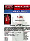 PTR - 2318 - Vertical Downstroke Baler Brochure
