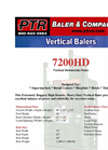 PTR - 7200HD - Vertical Downstroke Baler Brochure