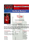 PTR - 7230 - Vertical Downstroke Baler Brochure