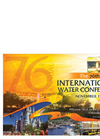 International Water Conference 2015 (IWC) Brochure