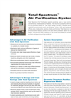 Total Spectrum - Air Purification System - Datasheet