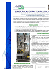 Supercritical Extraction Plant Brochure