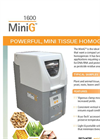 MiniG - Model 1600 - Automated Tissue Homogenizer and Cell Lyser Brochure