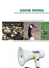 Goose Patrol - Bio-Acoustic Bird Dispersal Product – Leaflet