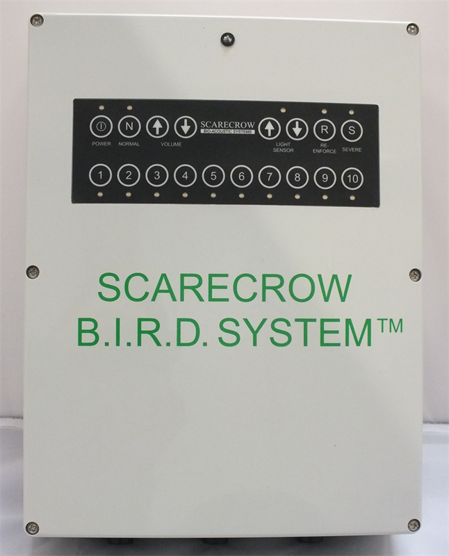 Model B.I.R.D. System  - Cost Effective Automatic Bird Dispersal System
