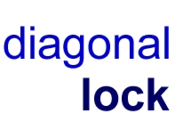 Diagonal Lock