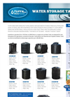 Tuffa - Model 1350SLW - Potable Water Tank - Brochure