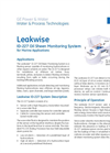 Leakwise - ID-227 - Oil Sheen Monitoring System For Marine Applications Brochure