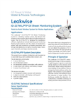 Leakwise - ID-227WL/PTP - Oil Sheen Monitoring System Brochure