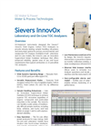 Sievers InnovOx On-line TOC Analyzer Brochure