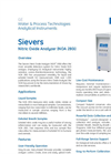 Sievers Nitric Oxide Analyzer (NOA 280i) Brochure