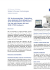 GE Autosampler, DataPro, and DataGuard Software For Use with Sievers 900 and 5310 C TOC Analyzers - Brochure