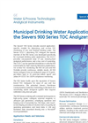 Municipal Water Applications for the 900 Series Brochure