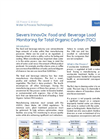 Application note - Sievers InnovOx: food and beverage load monitoring for total organic carbon (TOC)