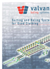 Sorting & Baling Systems for Used Clothing Brochure