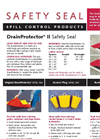 Urethane Drain Protector Brochure (Includes List Of Standard Sizes)