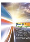 Alternative Fuel and Advanced Technology Vehicles Training Courses Brochure