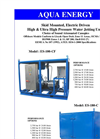 ES-100-CF / ES-180-C Skid Mounted, Electric Driven High & Ultra High Pressure Water Jetting Units Brochure