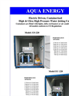 EC-220 Electric Driven, Containerised High & Ultra High Pressure Water Jetting Units Brochure