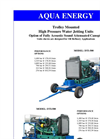 DTI-500 Trolley Mounted High Pressure Water Jetting Units Brochure