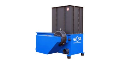 GROSS - Model GAZ 62 - Single-Shaft Waste Shredders
