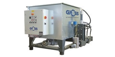 GROSS - Model GP-Genius 1/40 - Briquetting Press