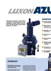 AZUD LUXON LDB Automatic Electric Screen Filters Brochure