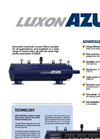 AZUD LUXON LFH Automatic Hydraulic Screen Filters Brochure