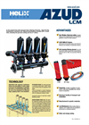 Azud Helix - Model LCM - Disc Filters System Brochure