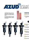 Azud - Spiral Clean Screen Filter Brochure