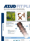 Azud - Model Fit Plus - Safety Fittings Without Rings Brochure