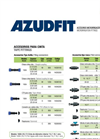 AZUD FIT - Microirrigation Fittings Brochure
