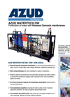 Azud Watertech - Model DW RO - Purification of Water With Reverse Osmosis Membranes Brochure