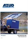 Azud Watertech - Model DWE - Mobile, Compact and Autonomous Drinking Water Plant Brochure