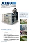 Azud Watertech - Model WW MBBR - Containerized Waste Water Plant Brochure