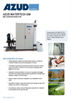 Azud Watertech - Model GW - Grey Water Recycling Plant Brochure