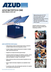 Azud Watertech - Model DWE - Mobile Drinking Water Plant Datasheet